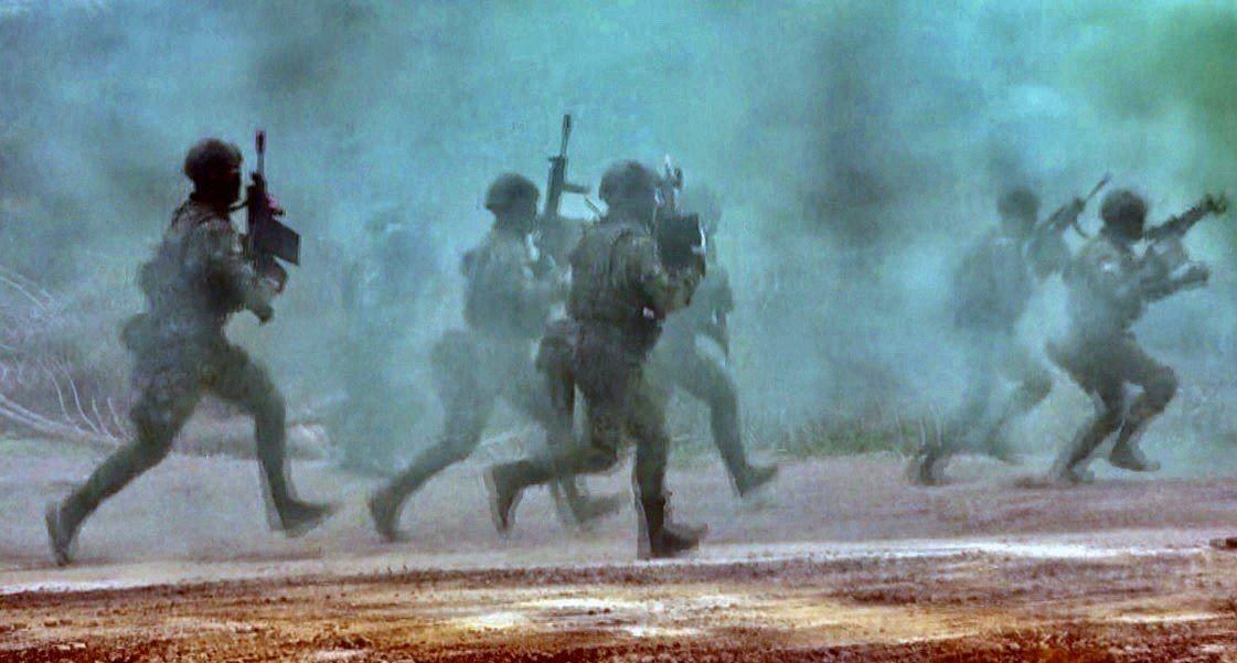 陸軍司令部今天證實聯兵旅「聯合兵種營」編組調整規劃。記者洪哲政/攝影