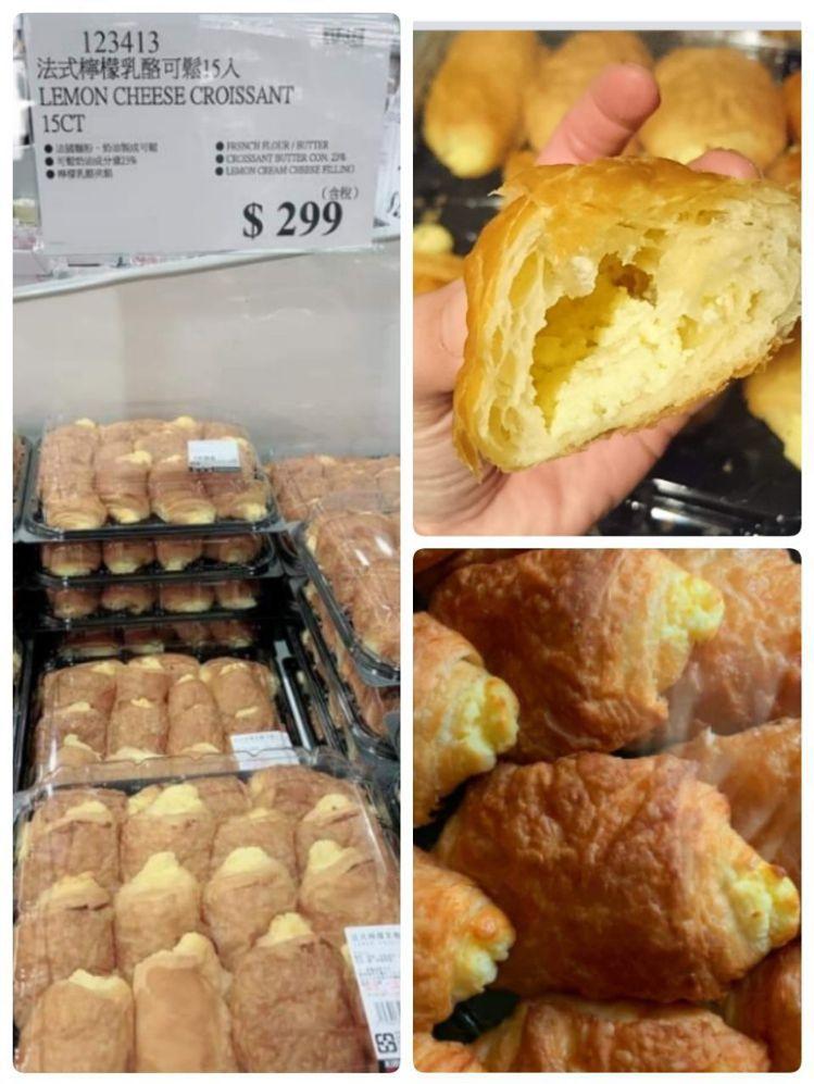 好市多法式檸檬乳酪可鬆近期再次上市。圖╱擷取臉書社團「Costco好市多 商品經...