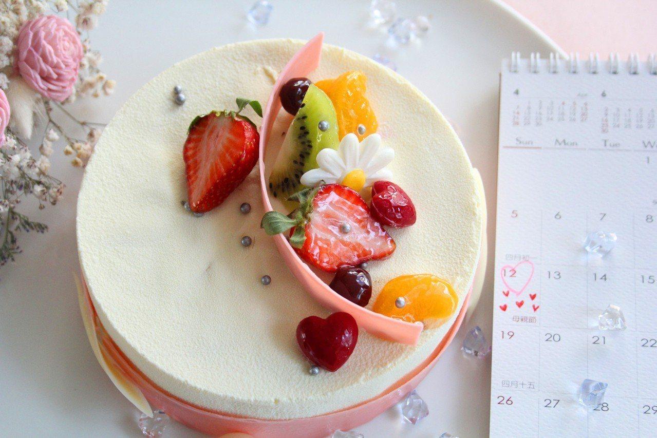 新竹老爺酒店2019母親節蛋糕—雪國圓舞曲。業者/提供
