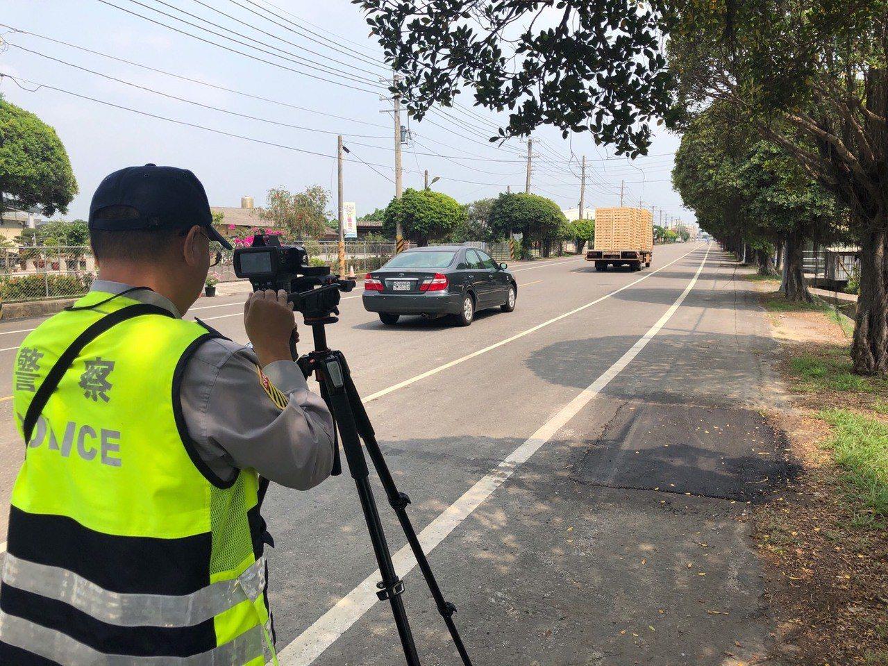 台南市警方將針對高死亡事故路段,加強超速測速拍照取締。記者吳淑玲/翻攝