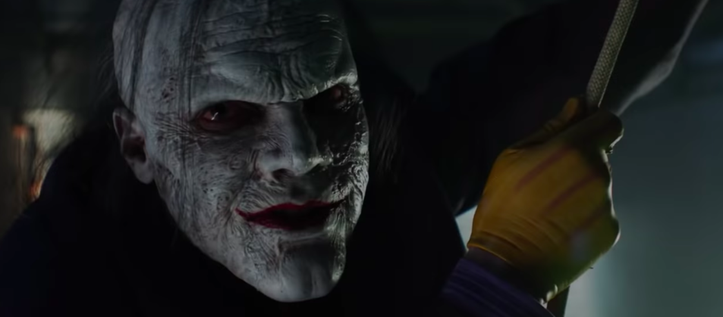「萬惡高譚市」裡的小丑最新造型曝光。圖/翻攝自TV Promos YOUTUBE