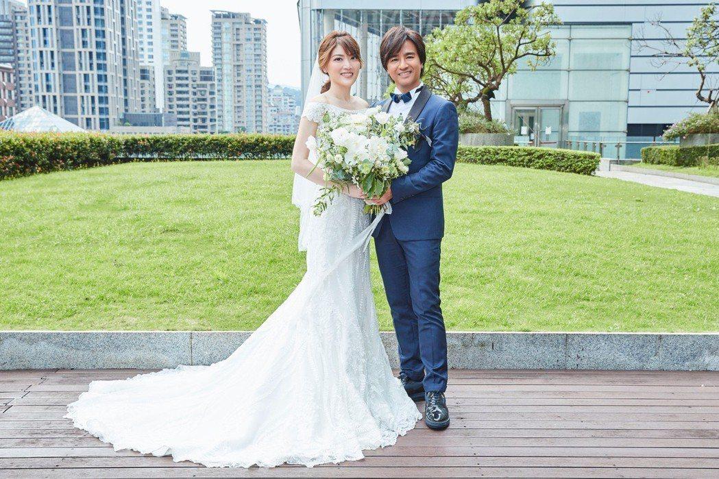 尤秋興4日迎娶美嬌娘。圖/華研提供