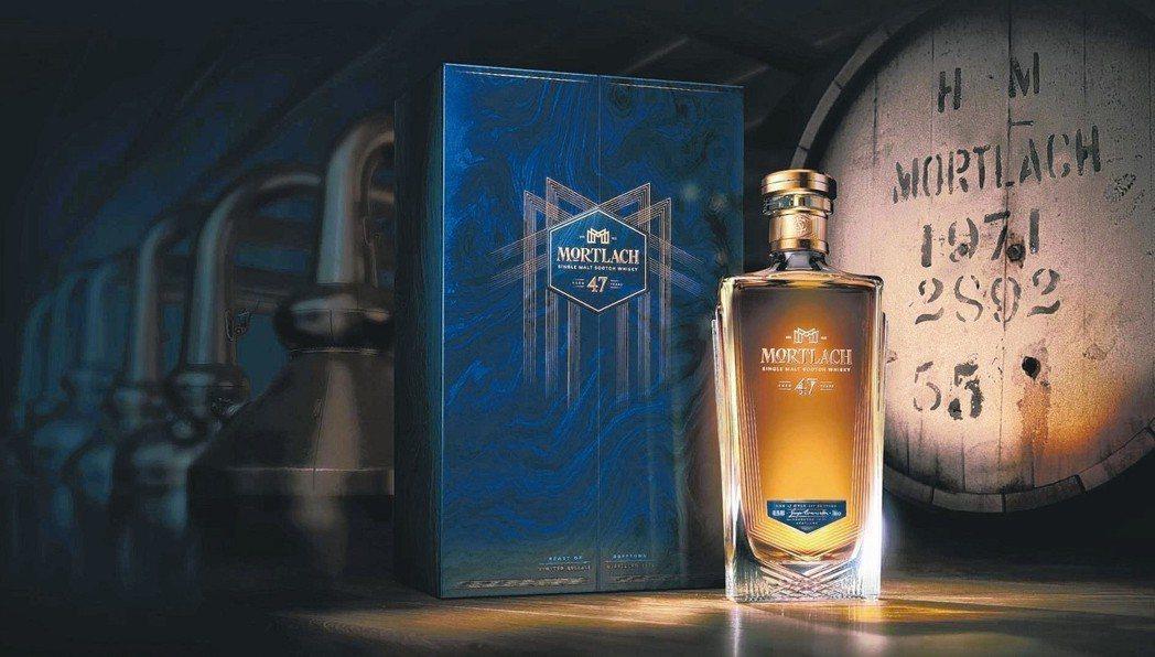 MORTLACH慕赫2 81單一麥芽威士忌47年單桶原酒。 圖/帝亞吉歐提供