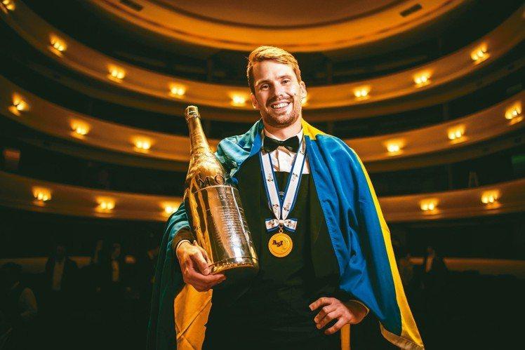 2016世界最佳侍酒師大賽冠軍Jon Arvid Rosengren。圖/何信緯...