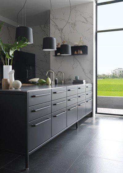 廚具的使用不必複雜,重點是「使用」。圖/森/CASA提供 劉小川
