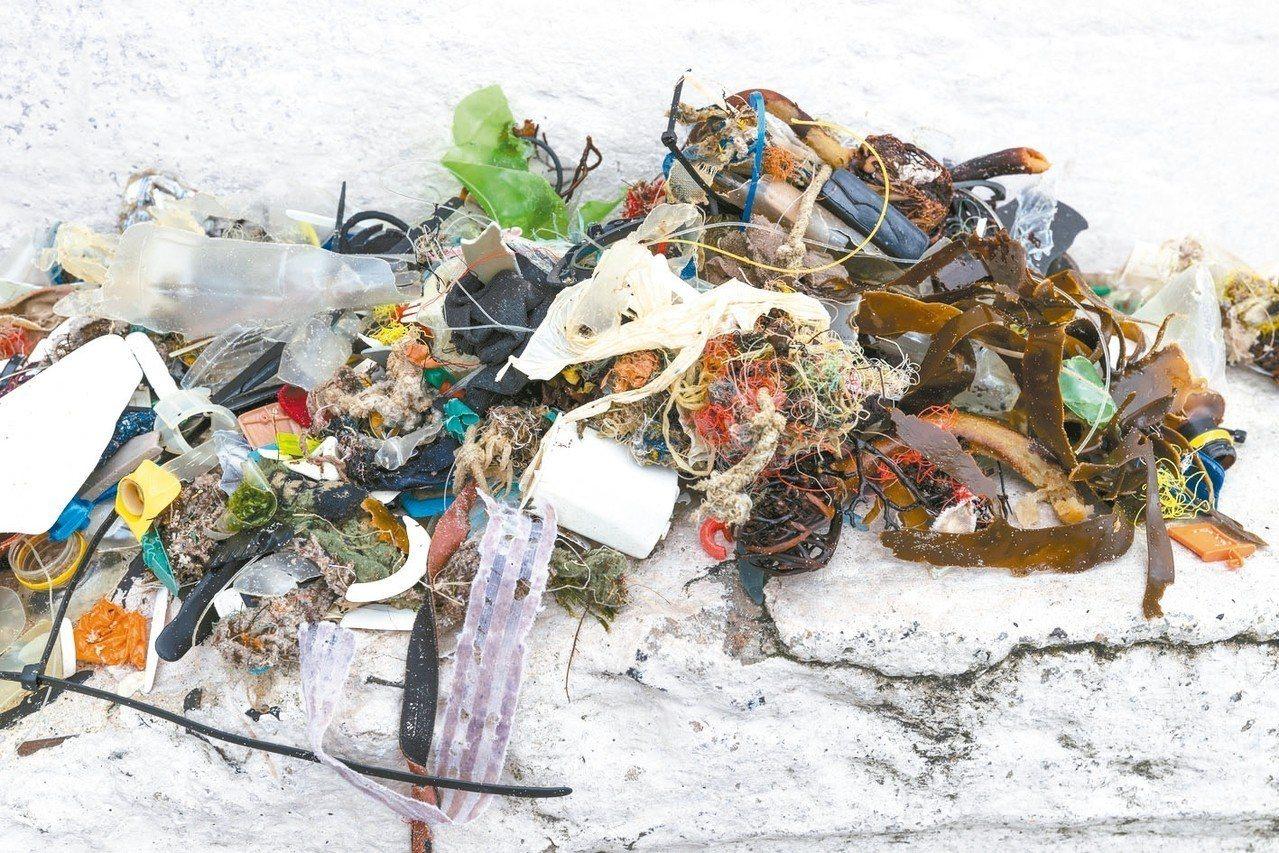 2018年的德國研究指出,海洋塑膠垃圾80%來自十條河流。 歐新社