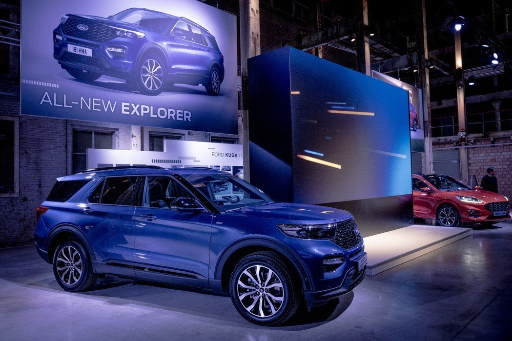 新世代歐規Ford Explorer Plug-in Hybrid。 摘自For...