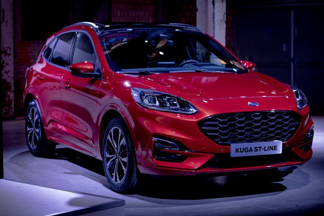 全新第三代Ford Kuga (圖為ST-Line車型)。 摘自Ford