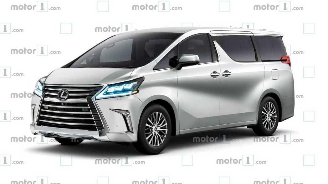 全新Lexus LM MPV預想圖。 摘自Motor 1