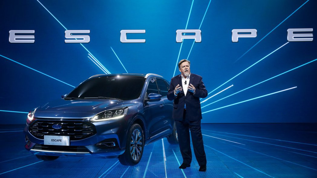 全新Ford Escape將與翼虎 (Kuga) 一同在中國販售。 摘自Ford