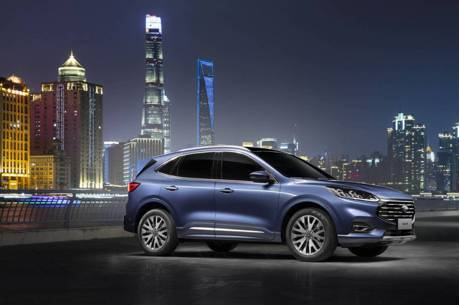 這裡的Kuga長得不一樣 全新Ford Escape中國正式亮相!