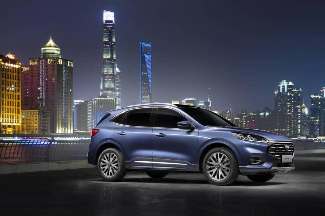 全新中國版Ford Escape在上海正式發表。 摘自Ford