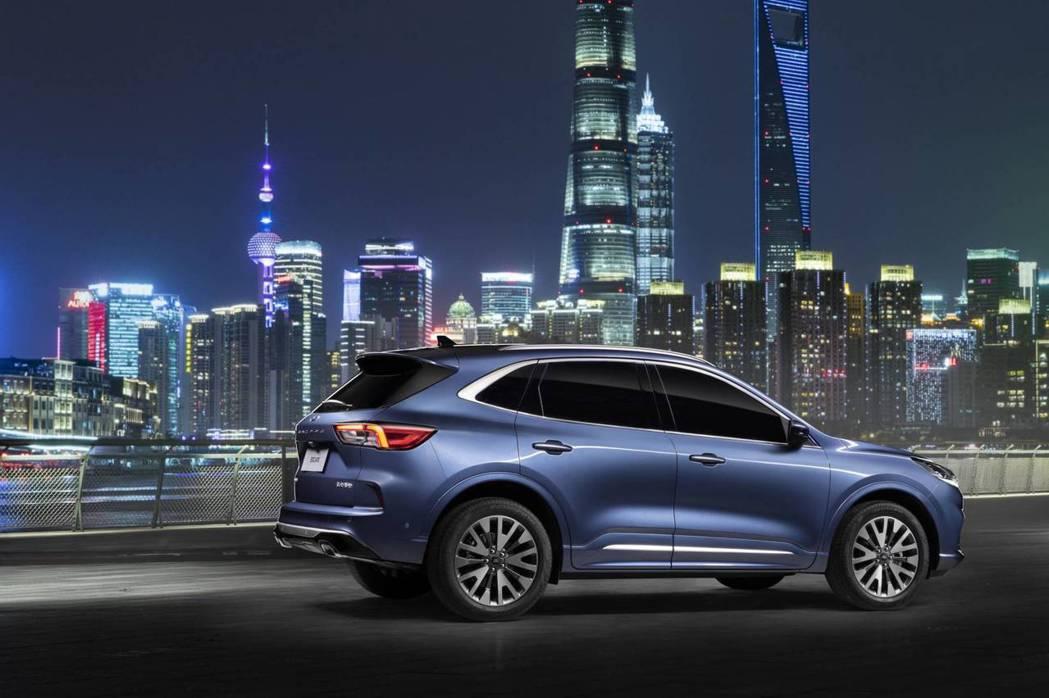 全新中國版Ford Escape。 摘自Ford