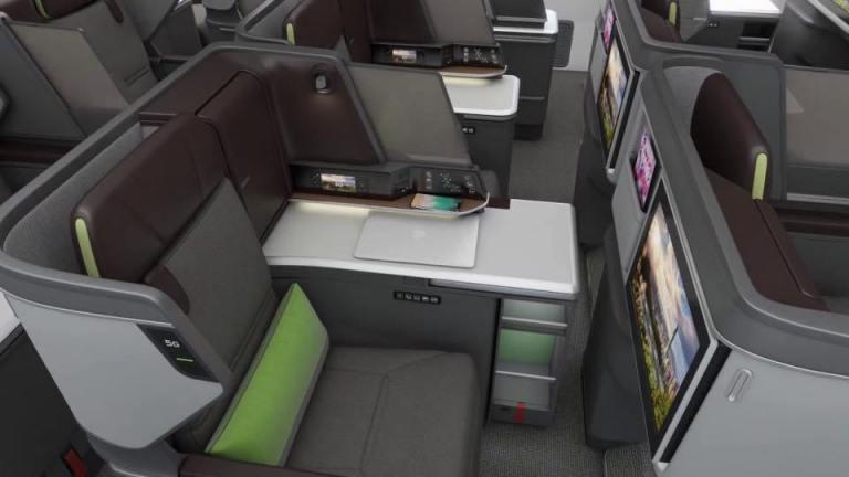 長榮航空Boeing 787商務艙 圖文來自於:TripPlus