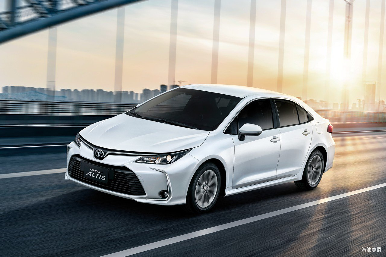 國內銷售神車TOYOTA COROLLA ALTIS大改款上市後,轎車銷售將開始...