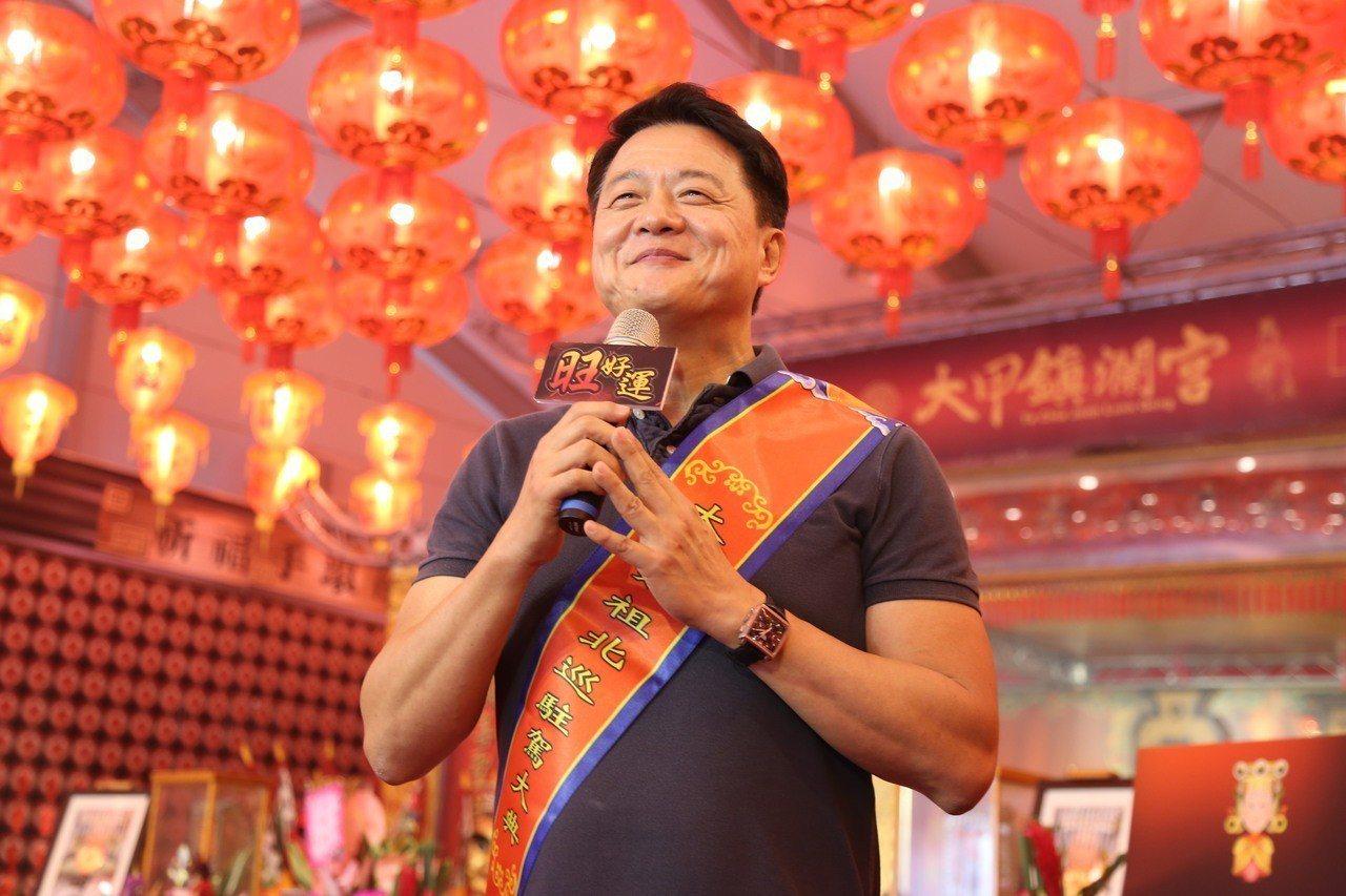 前台北縣長周錫瑋已宣布參加黨內總統初選。記者魏莨伊/攝影