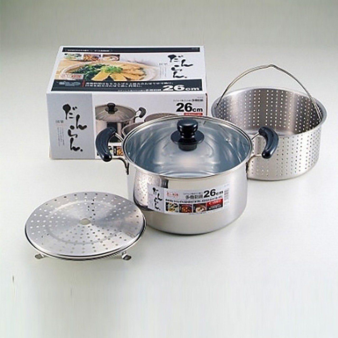 不鏽鋼多機能煮鍋(附蓋)26cm,台隆手創館4月4日至5月12日限量3折特價89...