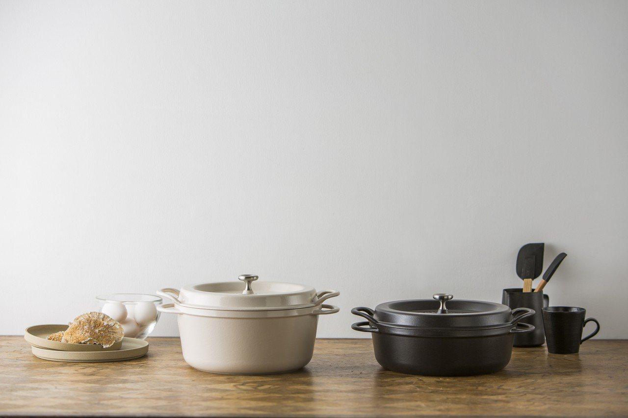 台隆手創館4月4日至5月12日推出日本原裝進口Vermicular琺瑯鑄鐵鍋系列...
