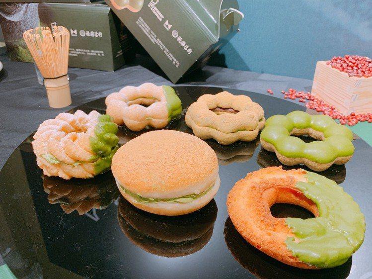 4/5起,開賣六款獨家抹茶甜甜圈。圖/Mister Donut提供