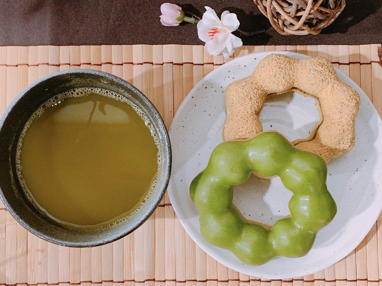 2019抹茶季登場。圖/Mister Donut提供