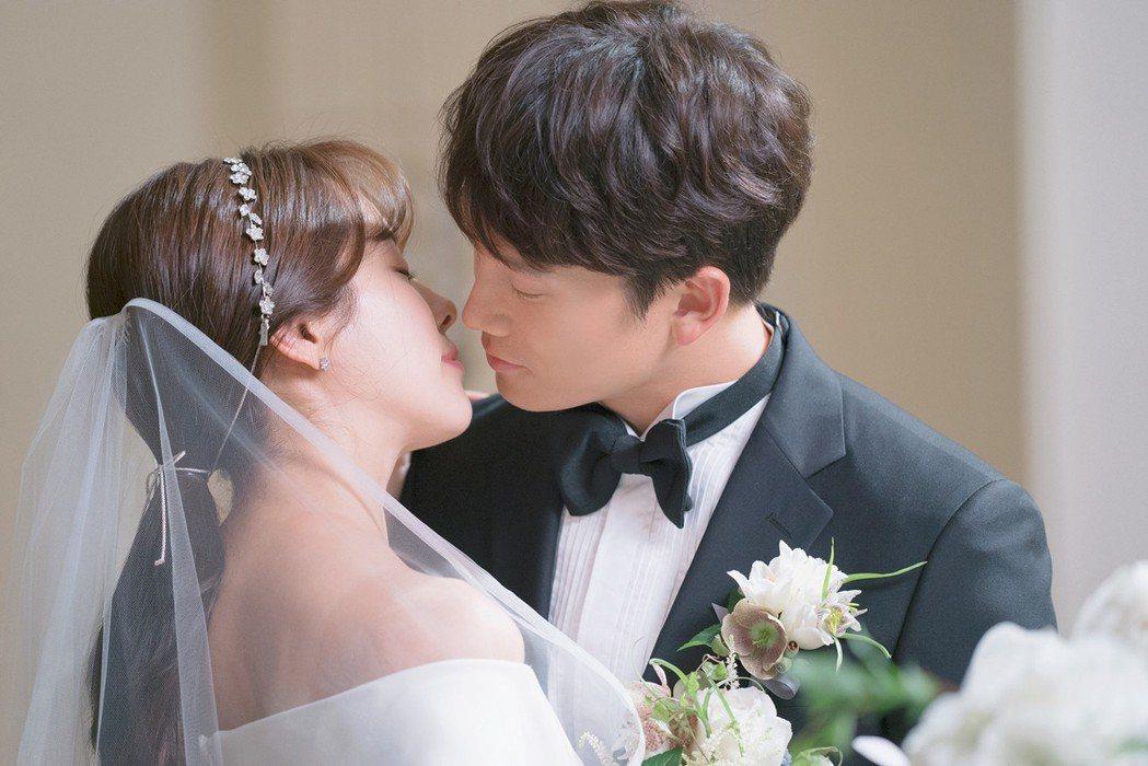 池晟、韓志旼首度合作演夫妻。圖/東森戲劇台提供