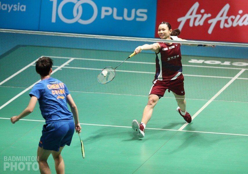 戴資穎今天復仇陳雨菲,挺進大馬羽賽女單決賽。 Badminton photo