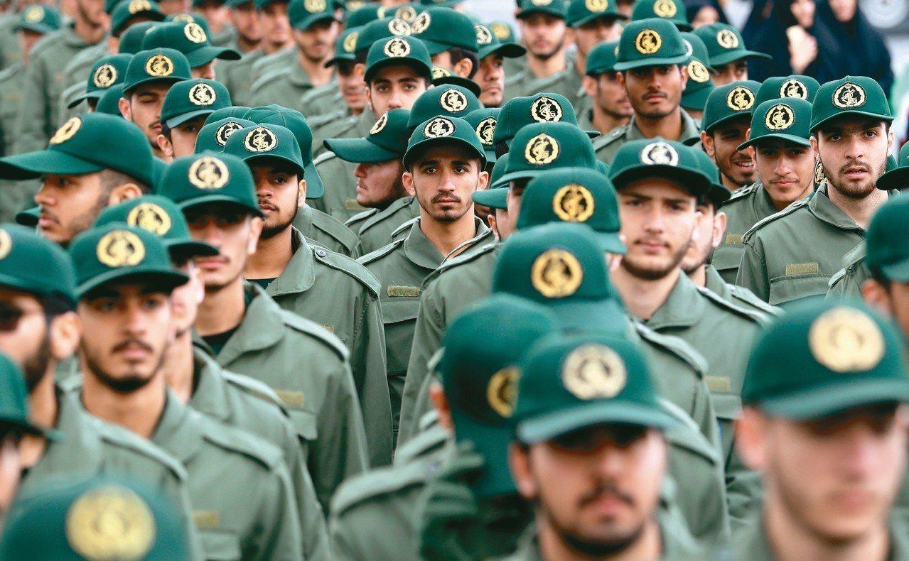 美國政府將宣告伊朗革命衛隊為恐怖組織,成為史上首例。 歐新社