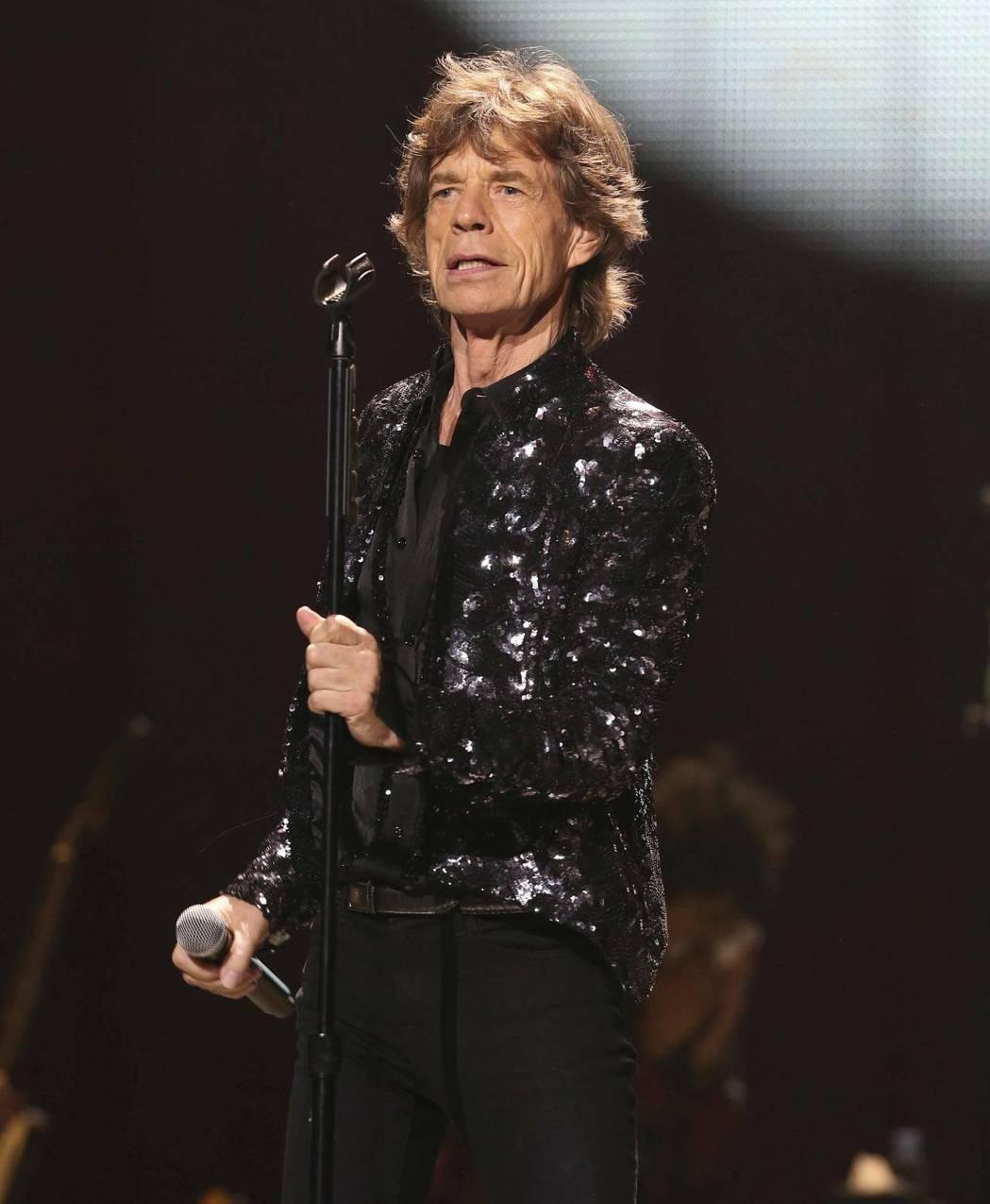 滾石樂團主唱米克傑格。 圖/美聯社