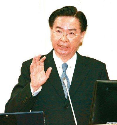 外交部長吳釗燮。本報系資料照/記者黃義書攝影