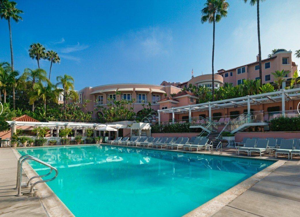 美國洛杉磯比佛利山莊大飯店。 圖/取自比佛利山莊大飯店官網