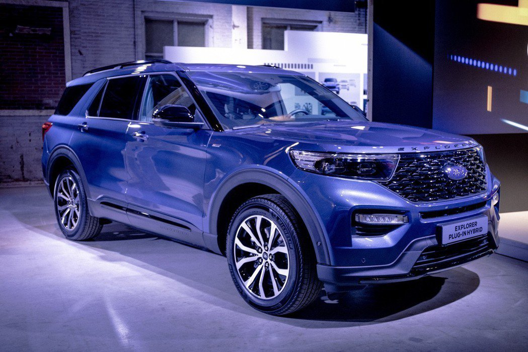 全新Ford Explorer Plug-in Hybrid。 摘自Ford