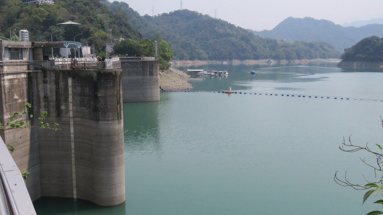 圖為石門大壩。聯合報系資料照/記者張弘昌攝影