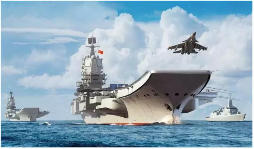 中共海軍國產航母「中國002航母」擬在大閱兵前入役,並攜手遼寧艦,雙航母共同亮相...