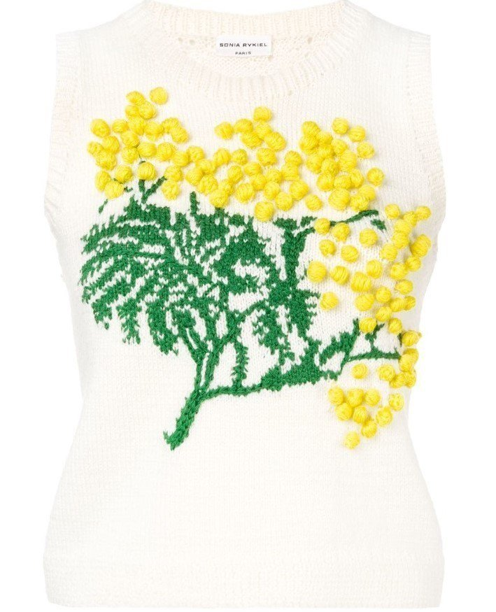Sonia Rykiel立體針織背心,售價33,600元。圖/MINOSHIN提...