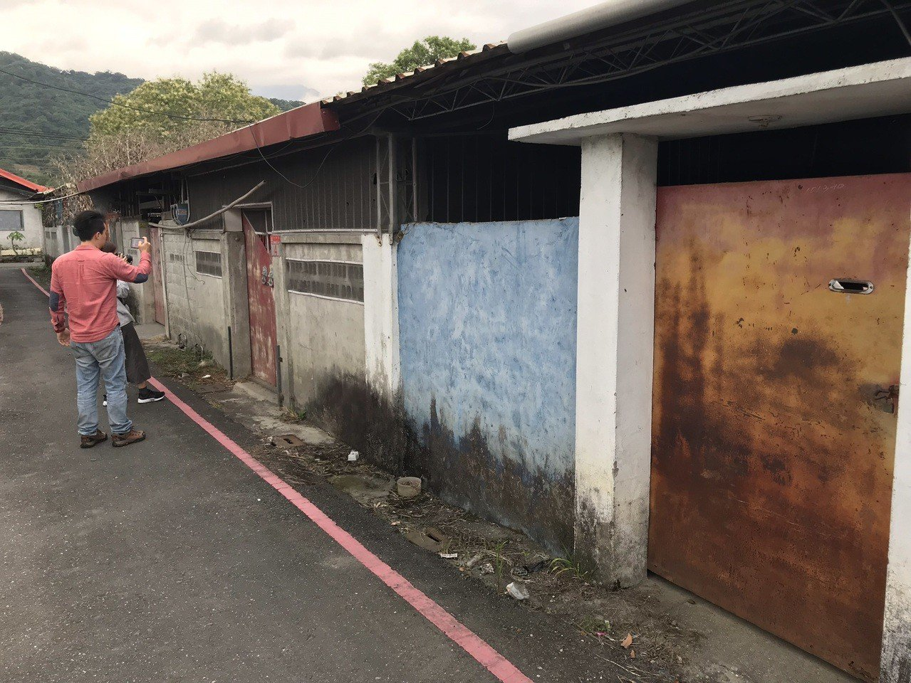 花蓮玉里火車站南側的日式鐵道宿舍聚落群,在地文史工作者疾呼保存。記者王燕華/攝影