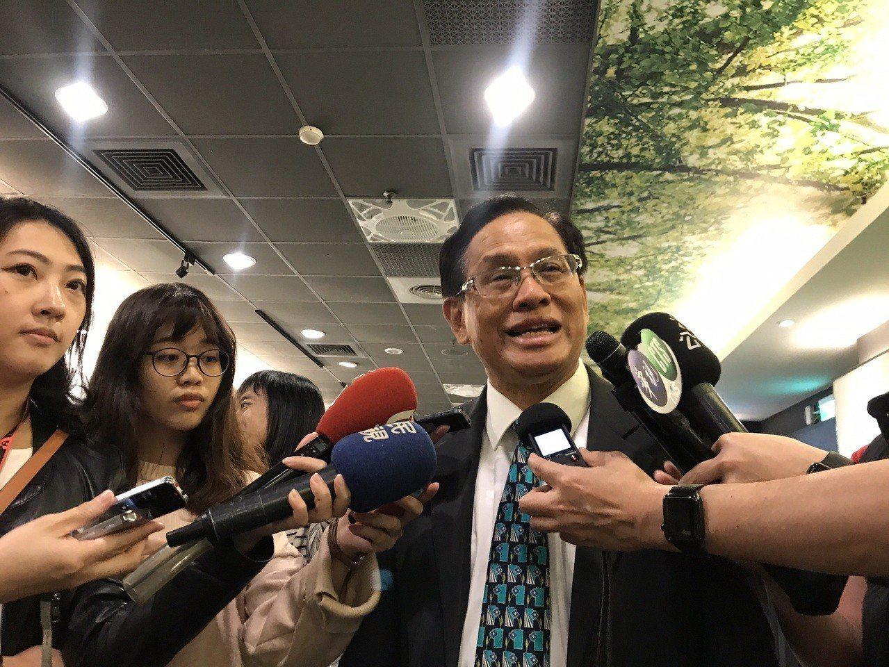 民視前董事長、喜樂島聯盟召集人郭倍宏。記者林麒瑋/攝影