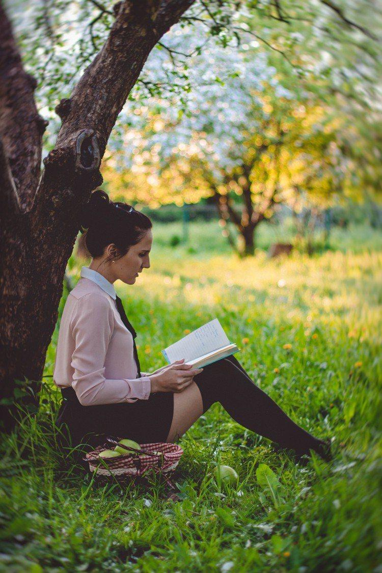 閱讀,讓生活更美好。圖/摘自Pelexs