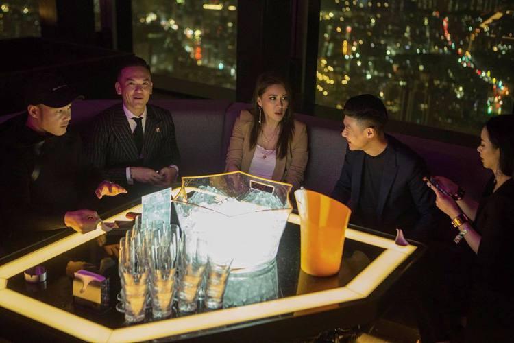 微風南山48F的CÉ LA VI SKY Bar & Lounge。圖/摘自CÉ...