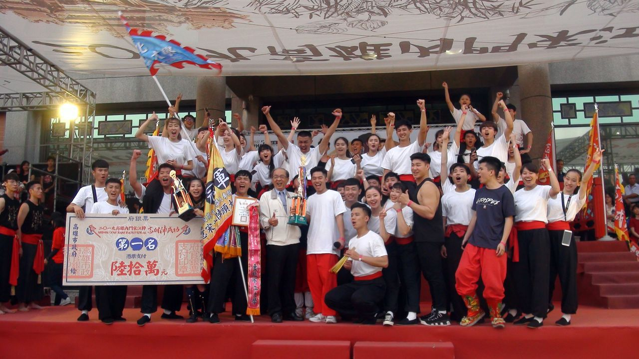 今年演出「黃巾之亂」的台北市立大學,一舉奪下內門宋江創意陣頭大賽冠軍,成為新一代...