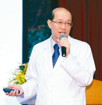 林口長庚醫院腫瘤科主任張文震 圖/本報資料照片