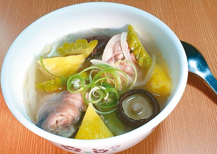 鳳梨苦瓜雞肉香菇湯(3人份)