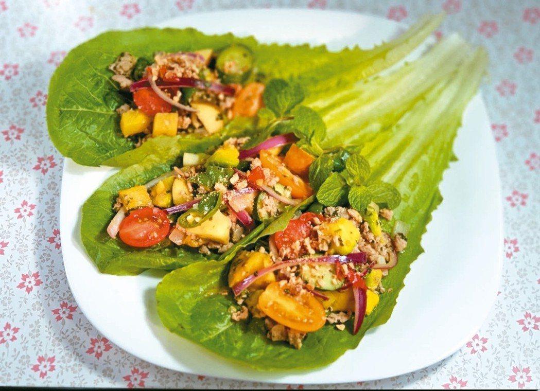 泰式薄荷蘿蔓蔬果(5人份)