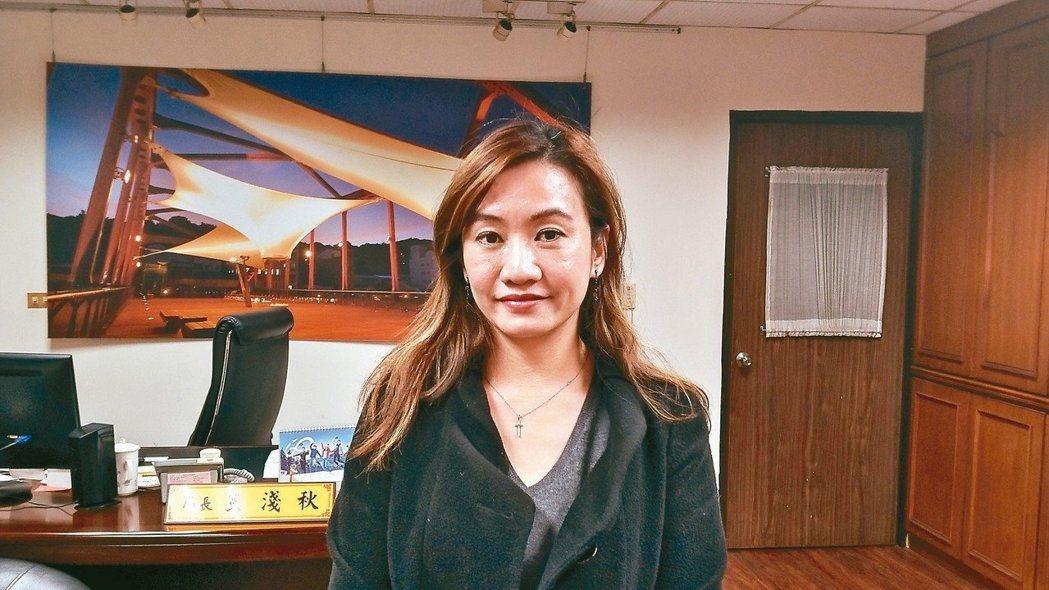 高市新聞局長王淺秋,曾是電視台記者。 圖/聯合報系資料照片