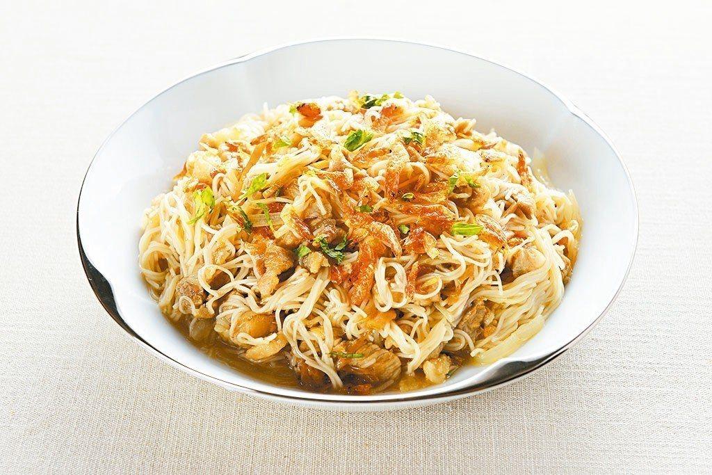 櫻花蝦炒麵線 照片/台北美福大飯店提供