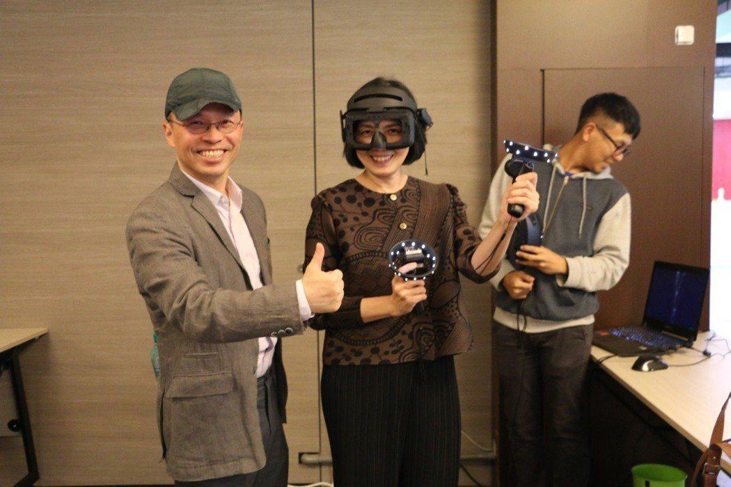 南藝大團隊運用虛擬實境(VR)及擴增實境(AR)技術,以距今4000至5000年...