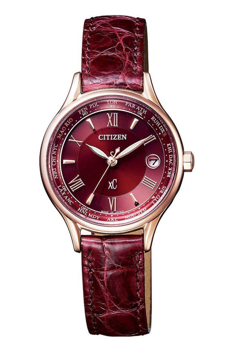 星辰EC1164-02W腕表,鈦金屬表殼,全台限量100只,約26,900元。圖...