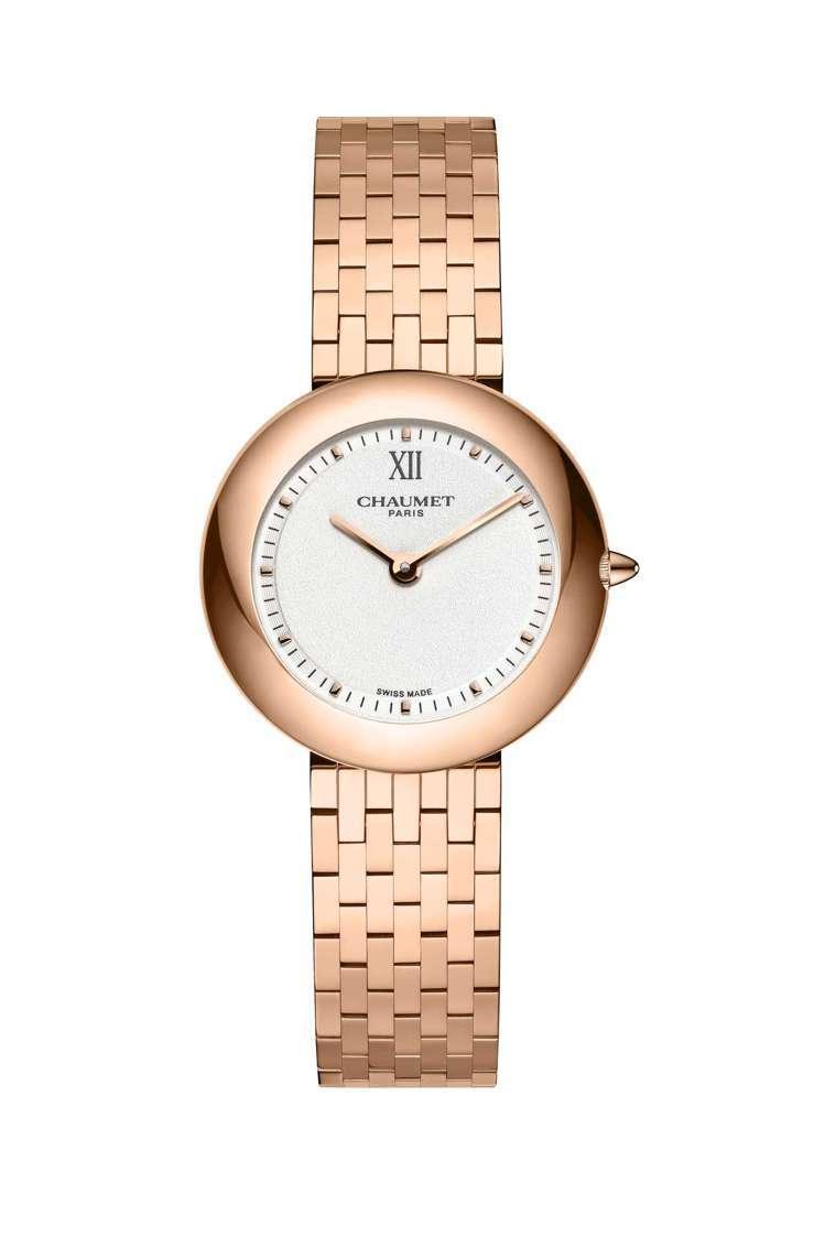 Boléro系列腕表,18K玫瑰金表殼、表鍊,表徑30毫米,石英機芯,約74萬5...