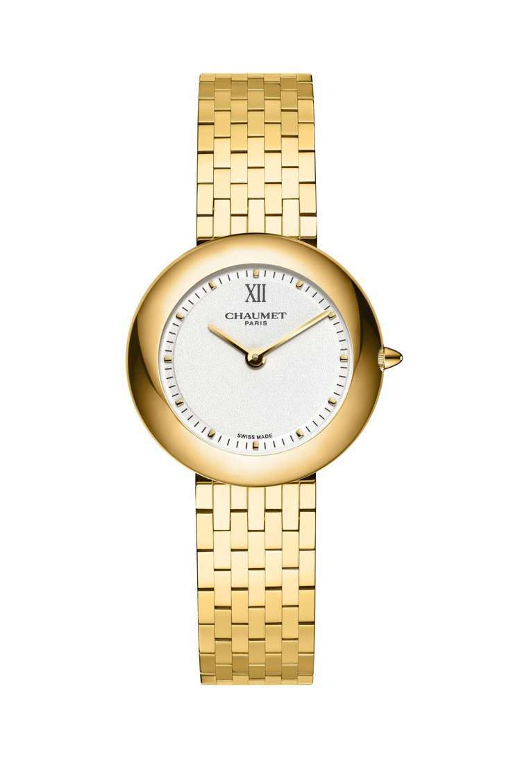 Boléro系列腕表,18K黃金表殼、表鍊,表徑30毫米,石英機芯,約74萬5,...
