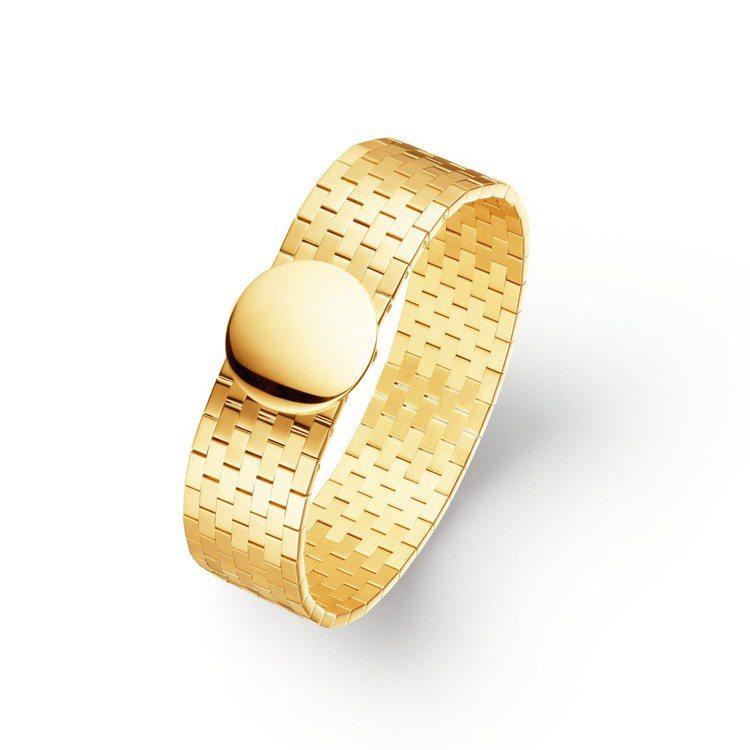 Boléro系列18K黃金手鐲,約51萬7,000元。圖/Chaumet提供