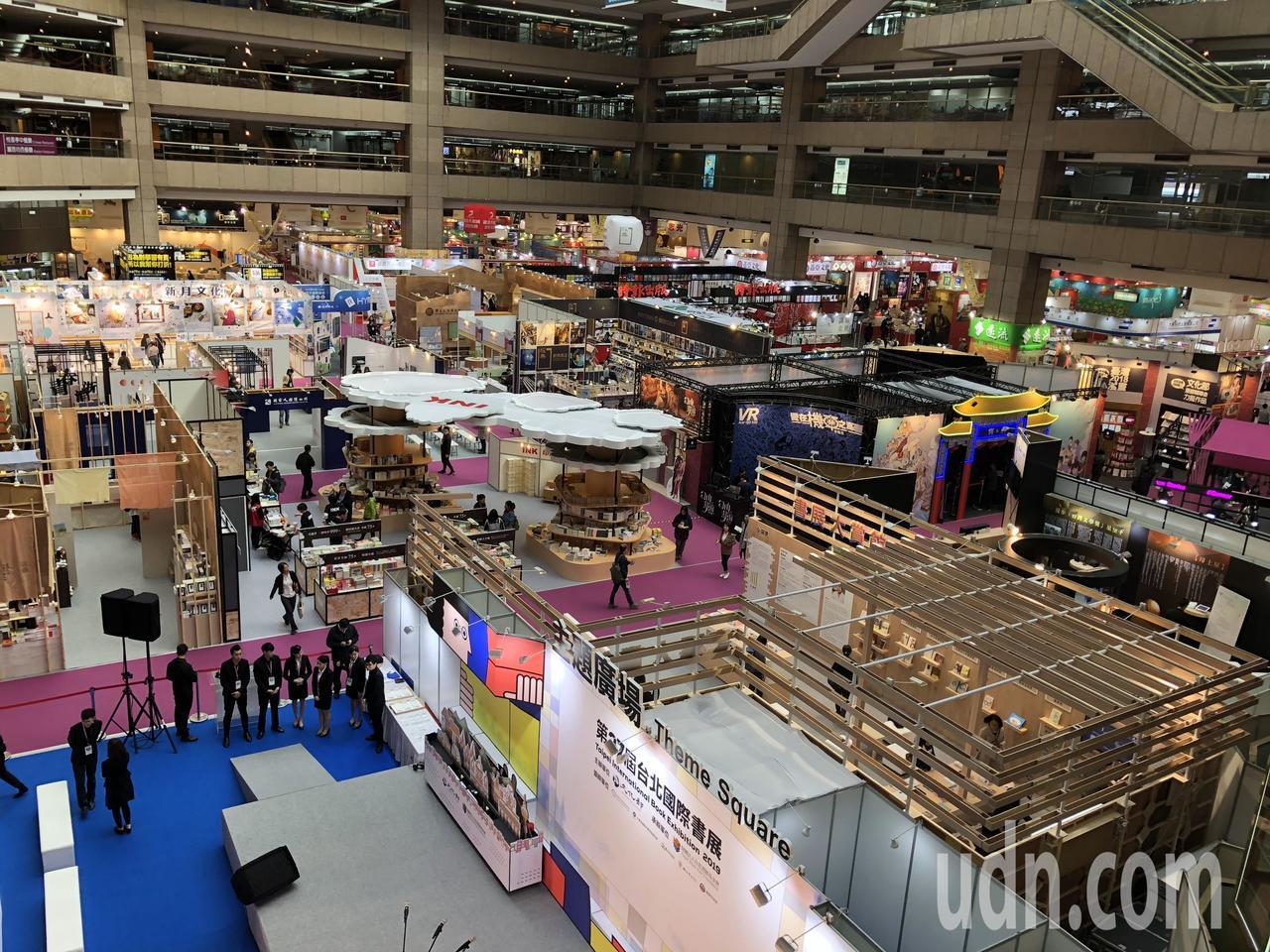 台灣出版產業狀況一直是藝文圈關注焦點。圖為今年台北國際書展現況。記者何定照/攝影